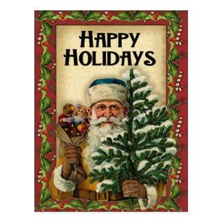 Vintage Santa: Postcards