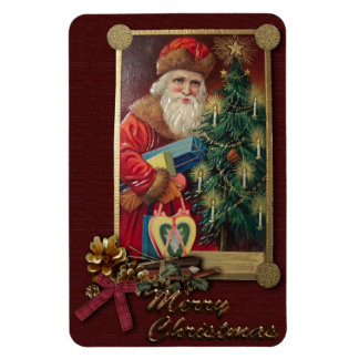Vintage Santa Premium Magnet