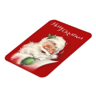 Vintage Santa Reworked! Rectangular Photo Magnet