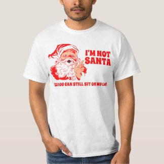 Vintage Santa , Sit On Santa's Lap T-Shirt