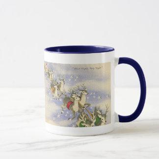 Vintage_Santa_Sleigh_mug Mug
