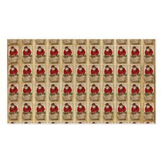 Vintage Santa with Bag Pattern Pack Of Standard Business Cards
