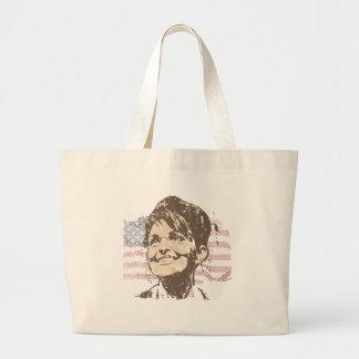 Vintage Sarah Palin Canvas Bag