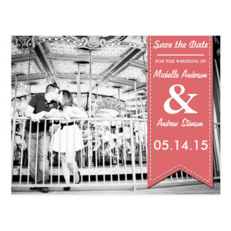 Vintage Save the Date Cards Postcard