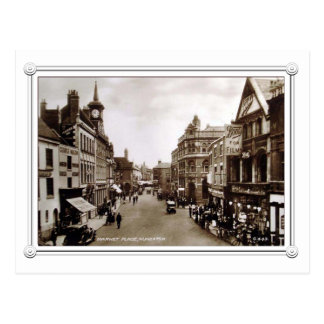 Vintage Scene of Nuneaton, Warwickshire Postcard