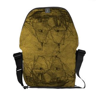 Vintage Schooner Messenger Bag