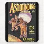 Vintage Sci Fi Comic Astounding Stories 1934 Mouse Mat