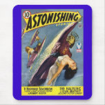 Vintage Sci-Fi Comic - The Halfling Mouse Pads