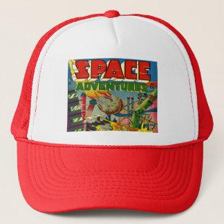 VINTAGE SCI FI COMICS (1950's SPACE ADVENTURES) Trucker Hat
