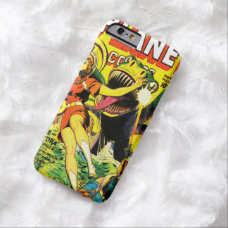 VINTAGE SCI FI COMICS (PULP SCIENCE FICTION COVER) BARELY THERE iPhone 6 CASE