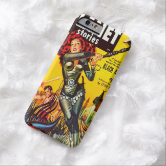 VINTAGE SCIENCE FICTION (1950's RETRO PULP COMICS) Barely There iPhone 6 Case