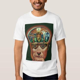 Vintage Science Fiction, Alien Brain in Laboratory Tee Shirt