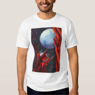 Vintage Science Fiction, Canyon Space Moon Rover Shirts