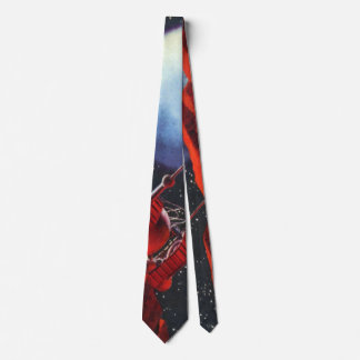 Vintage Science Fiction, Canyon Space Moon Rover Tie