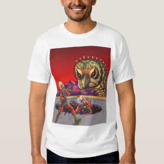 Vintage Science Fiction Giant Centipede Insect War T Shirts