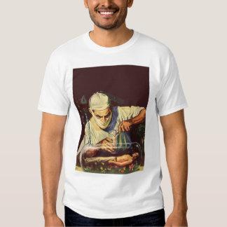 Vintage Science Fiction, Laboratory Mad Scientist T Shirt