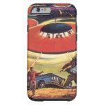 Vintage Science Fiction, Sci Fi, Alien Invasion Tough iPhone 6 Case