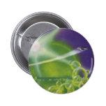 Vintage Science Fiction Sci Fi Spaceship Bubbles Button