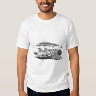 Vintage Science Fiction Steampunk Airship Eclipse Tees