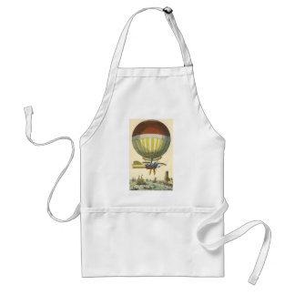 Vintage Science Fiction Steampunk Hot Air Balloon Aprons