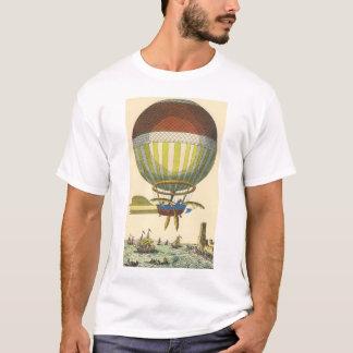Vintage Science Fiction Steampunk Hot Air Balloon T-Shirt