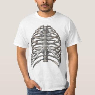 Vintage Science, Human Anatomy Skeleton Ribs Bones T Shirts