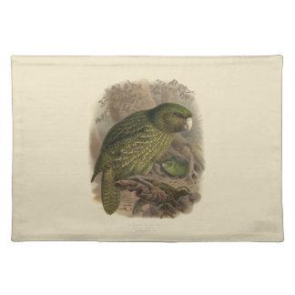 Vintage Science NZ Birds - Kakapo Placemat