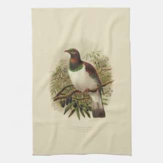 Vintage Science NZ Birds - Kereru Tea Towel