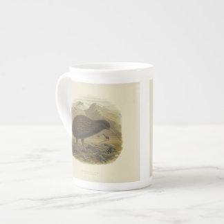 Vintage Science NZ Birds - Kiwi Tea Cup