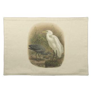 Vintage Science NZ Birds - NZ Herons Placemat