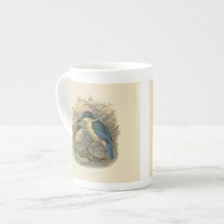 Vintage Science NZ Birds - NZ Kingfisher Tea Cup