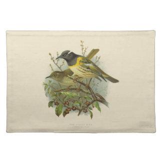 Vintage Science NZ Birds - Stitch Bird Placemat