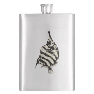 Vintage Science NZ Fish - Bellows Fish Hip Flask