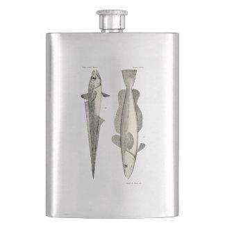 Vintage Science NZ Fish - Hoki Hip Flask
