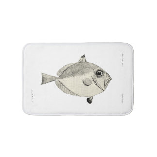 Vintage Science NZ Fish - Silver Dory Bath Mat