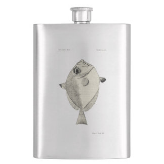 Vintage Science NZ Fish - Silver Dory Hip Flask