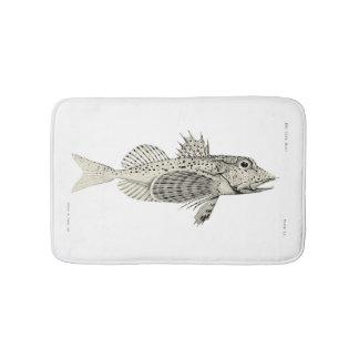 Vintage Science NZ Fish - Spotted Gurnard Bath Mat