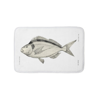 Vintage Science NZ Fish - Tarakihi Bath Mat
