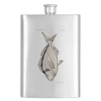 Vintage Science NZ Fish - Tarakihi Hip Flask