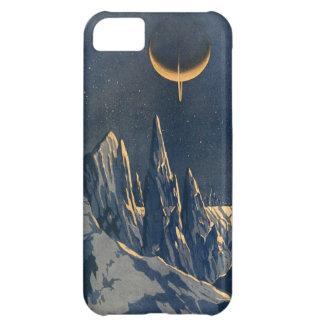 Vintage Scientific American Mountains Moon Scenery iPhone 5C Case