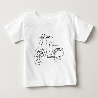 Vintage Scooter Baby T-Shirt