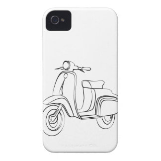 Vintage Scooter iPhone 4 Case