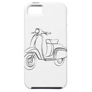 Vintage Scooter iPhone 5 Cover
