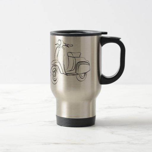 Vintage Scooter Mug