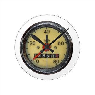 Vintage Scooter Speedometer Wallclock