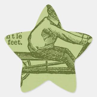 vintage scooter star sticker