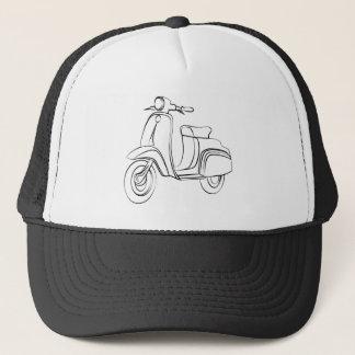 Vintage Scooter Trucker Hat