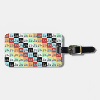 Vintage Scooters Luggage Tag
