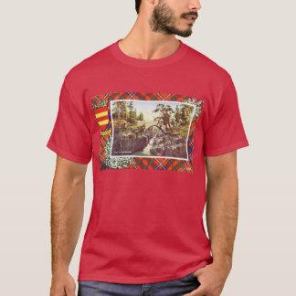 Vintage Scotland, Cameron tartan T-Shirt