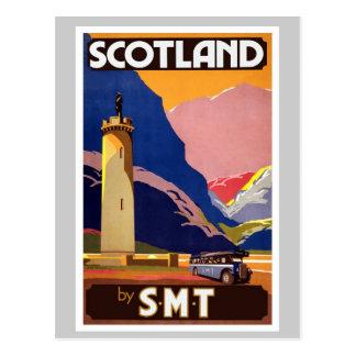 Vintage Scotland Postcard